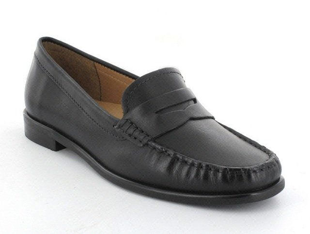 Ambition Donella 1650-83 Black loafers