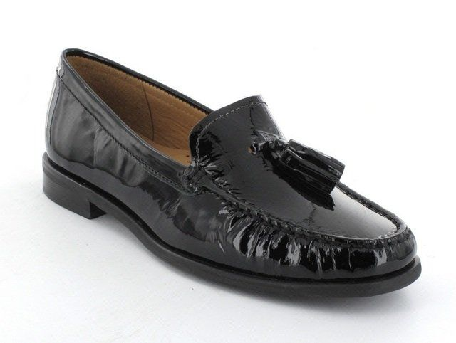 Ambition Loafers - Black patent - 1655/54 DONELTA