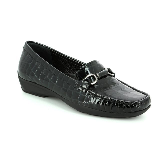 Ambition Loafers - Black croc - 20184/40 LOTUS 72