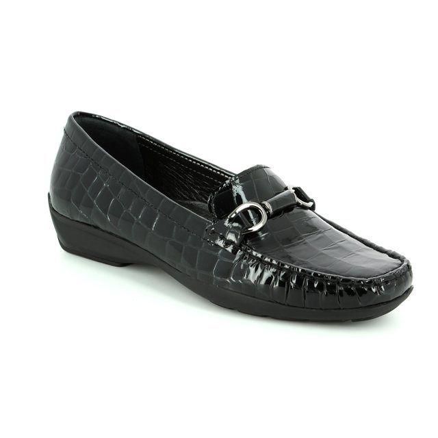 Ambition Loafers - Black croc - 20184/40 LOTUS 72