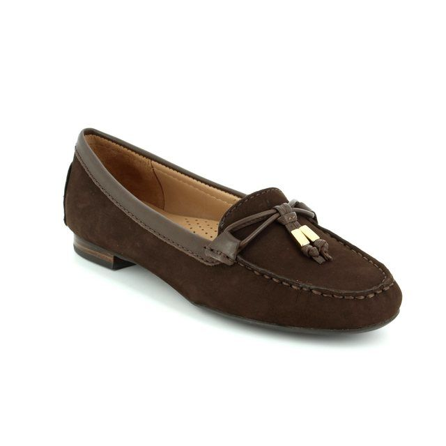 Ambition Loafers - Brown nubuck - 24909/20 SUNFLOW