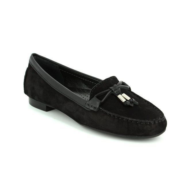 Ambition Loafers - Black nubuck - 24909/40 SUNFLOW