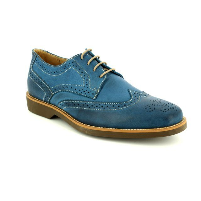 Anatomic Brogues - Blue - 565626/70 TUCANO