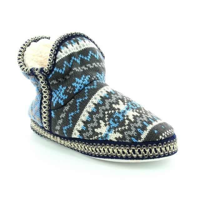 Antonio Dolfi Slippers - Blue multi - 946022/85 BOOTY