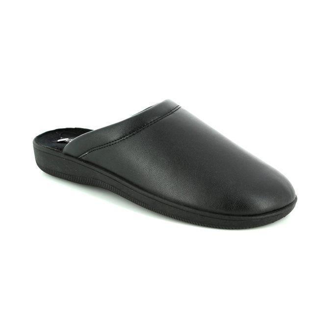 Begg Shoes House Shoe - Black - 972107/80 CLINKY