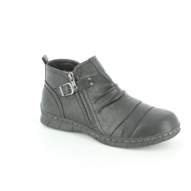 Antonio Dolfi Hush 225965-80 Black ankle boots