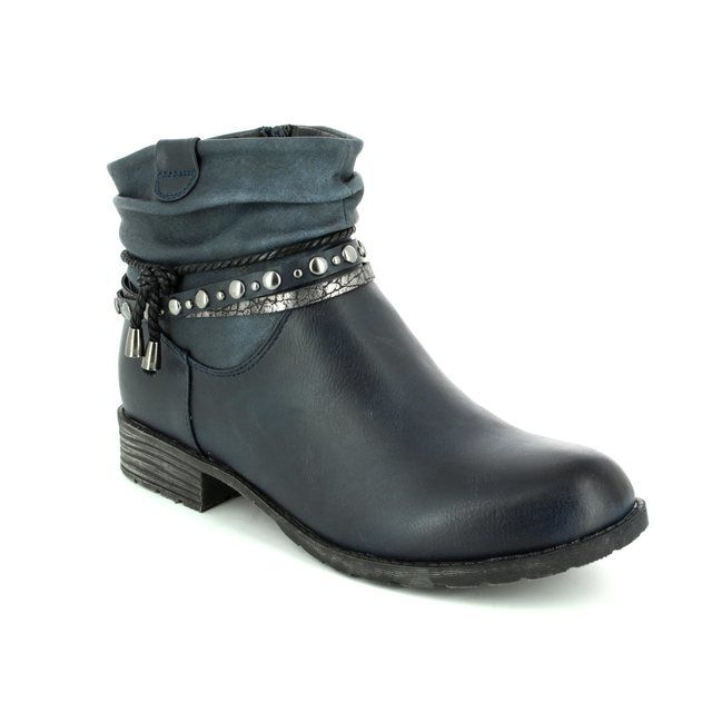 Antonio Dolfi Ankle Boots - Navy - 225382/40 KRISTON