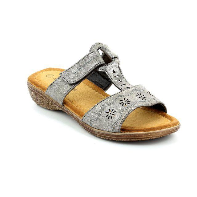 Antonio Dolfi Regengst 521501-99 Pewter sandals
