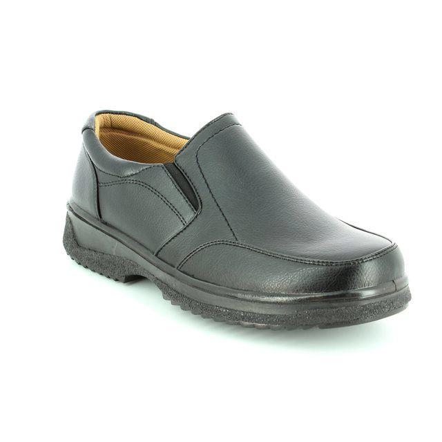 Antonio Dolfi Slip 320403-80 Black casual shoes