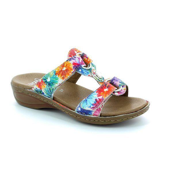 Ara 1227273-16 Floral print sandals