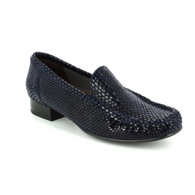 Ara Atlanta 2250137-34 Navy patent/suede comfort shoes