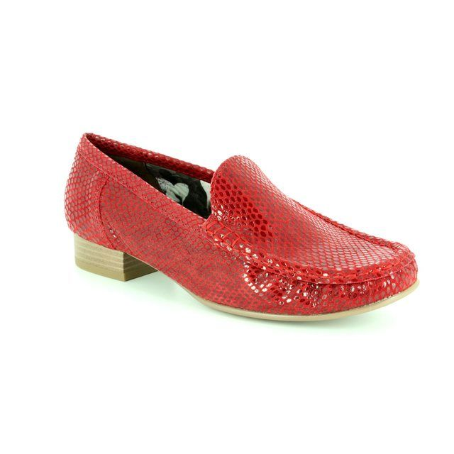 Ara Loafers - Red - 50137/11 ATLANTA 81