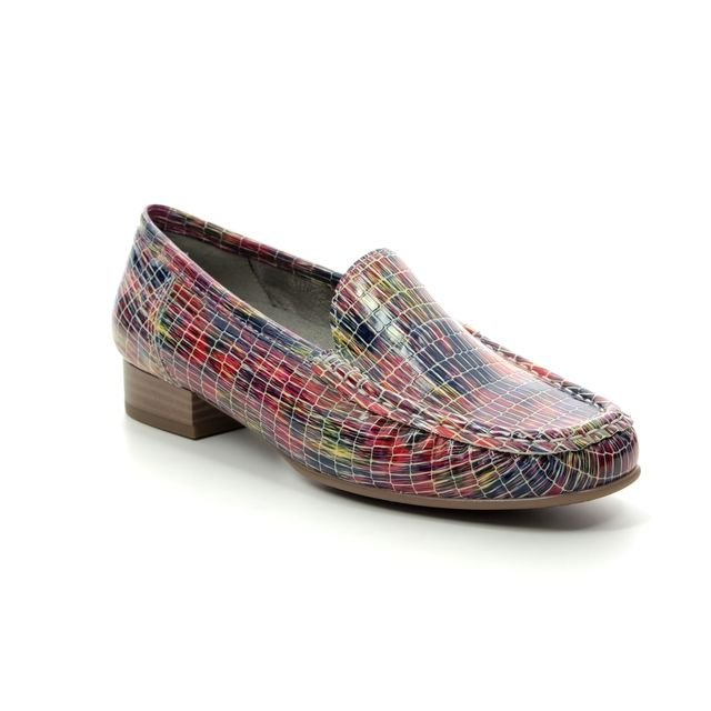 Ara Atlanta 91 50137-78 Rainbow Coloured Loafers
