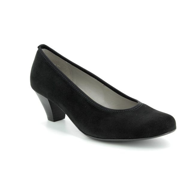 Ara Heeled Shoes - Black suede - 64245/01 AUCKLAND