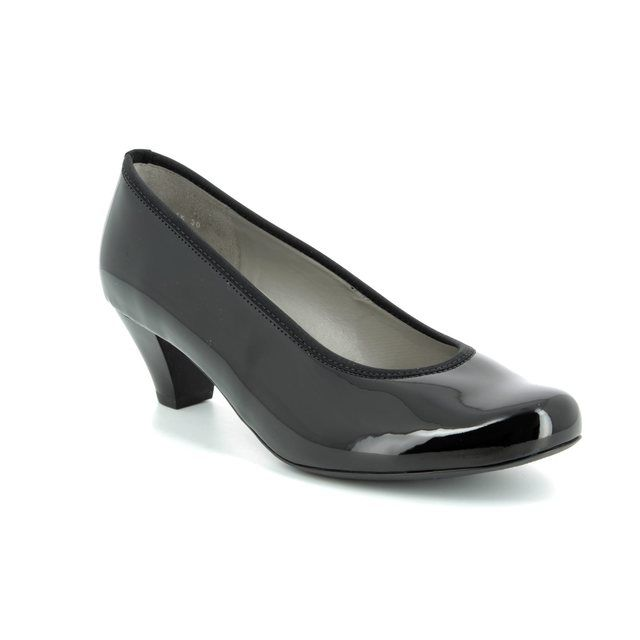 Ara Heeled Shoes - Black patent - 64245/30 AUCKLAND