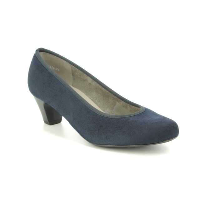 Ara Heeled Shoes - Navy - 54220/74 AUCKLAND G FIT