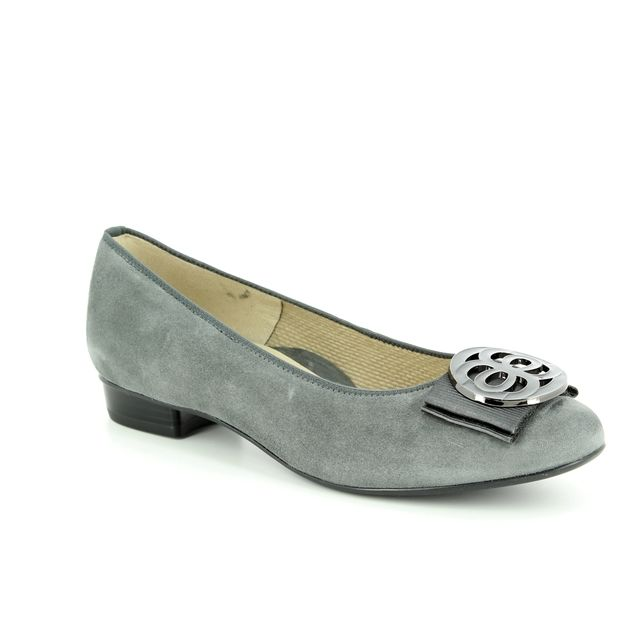 Ara Pumps - Grey-suede - 33755/23 BARI CHANEL