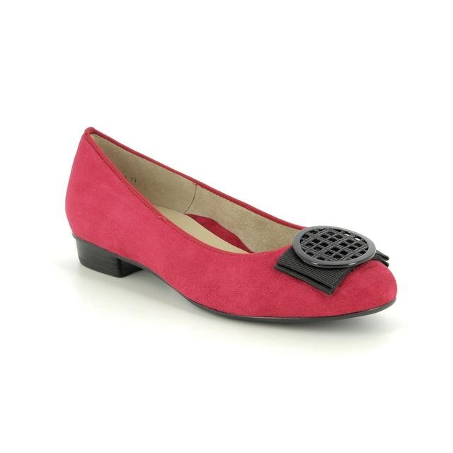 Ara Pumps - Red suede - 43720/77 BARI ROUND