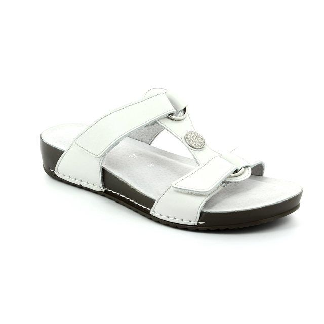 Ara Bastoni 57316-05 White sandals