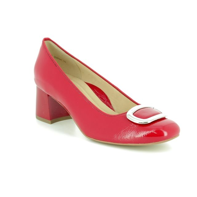 Ara Heeled Shoes - Red - 35548/10 BRIGHTON