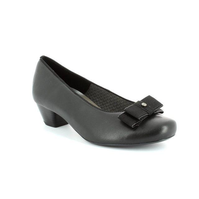 Ara Heeled Shoes - Black - 32083/01 BRUGGE EX WIDE
