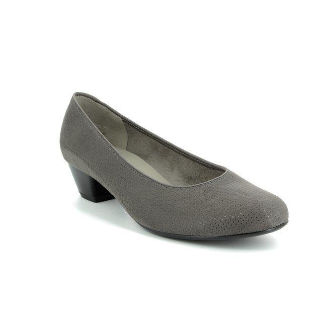 Ara Heeled Shoes - Grey - 63613/73 CATANIA 81
