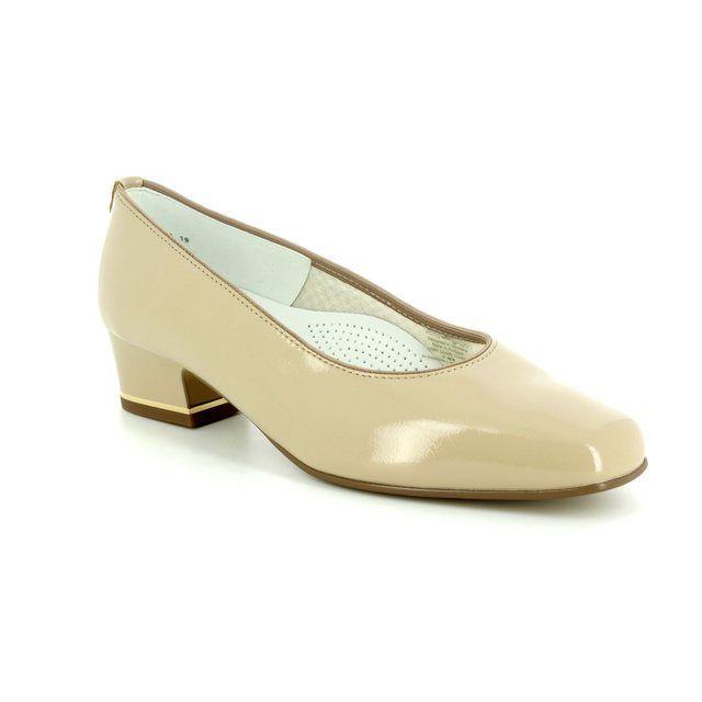 Ara Heeled Shoes - Nude Patent - 11859/19 GRAZ