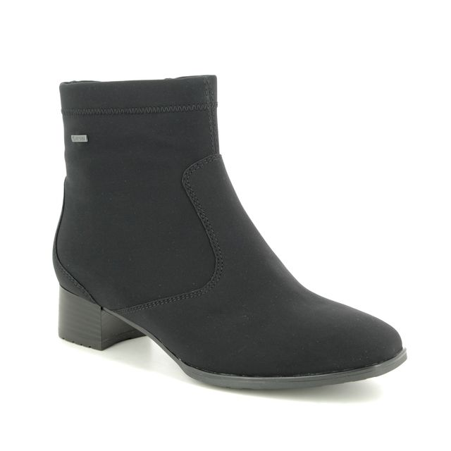 Ara Graz Wide Fit Gore 11840-05 Black ankle boots