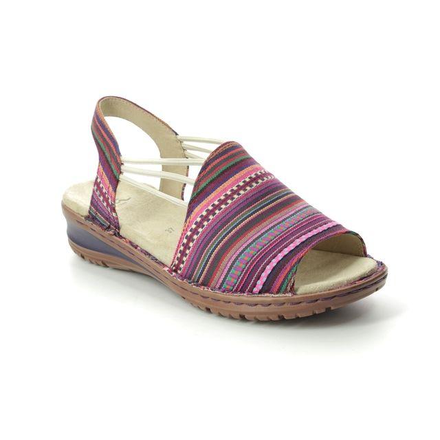 Ara Hawaii Korsika 27241-74 Pink multi Comfortable Sandals