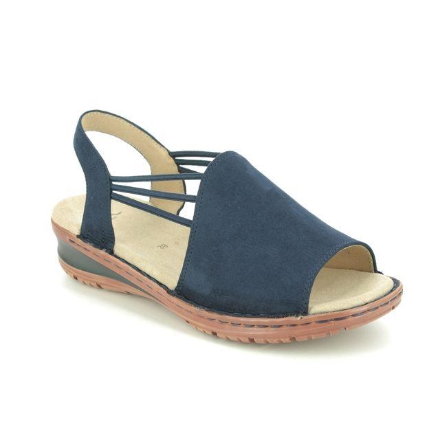 Ara Comfortable Sandals - Navy - 27241/77 HAWAII KORSIKA