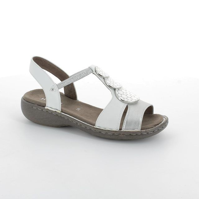 Ara Koregi 57237-06 White multi sandals