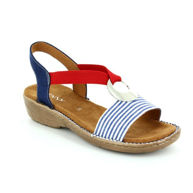 Ara Sandals - Blue multi - 57264/75 KORELDA