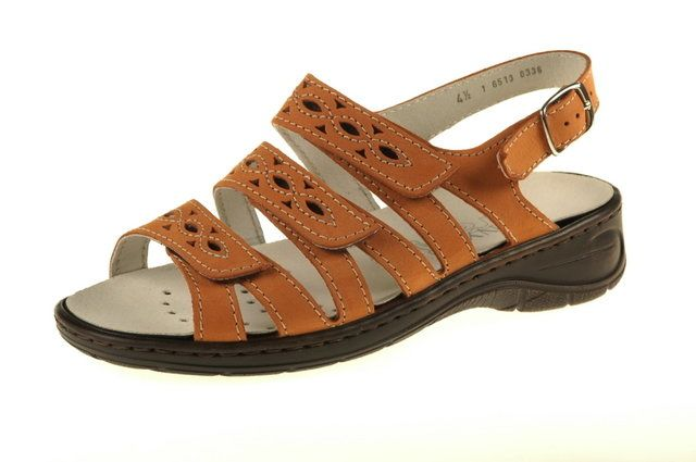 Ara Korfair 56513-05 Orange sandals