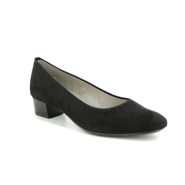 Ara Heeled Shoes - Black - 56802/08 MILANO G FIT