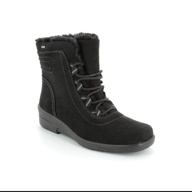 Ara Winter Boots - Black - 68519/35 MUNILACE TEX