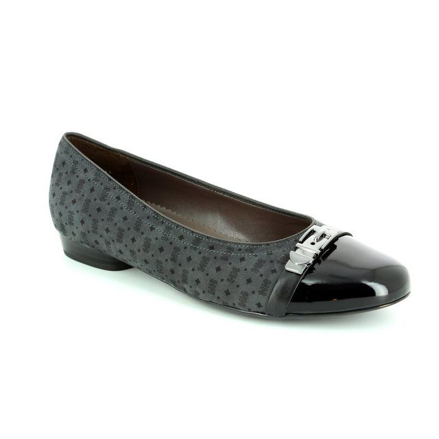 Ara Pumps - Black grey multi - 63374/41 PISABUCK