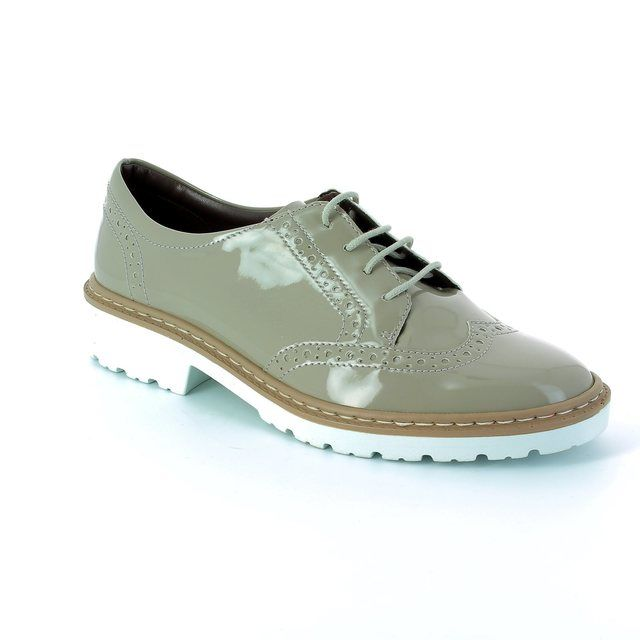 Ara Portland 60006-09 Nude Patent lacing shoes