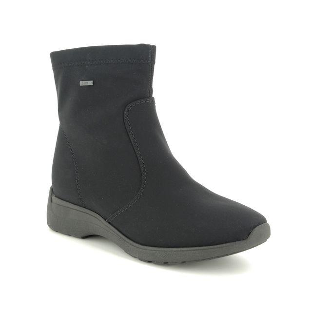 Ara Ankle Boots - Black - 40940/01 POSIO  GORE