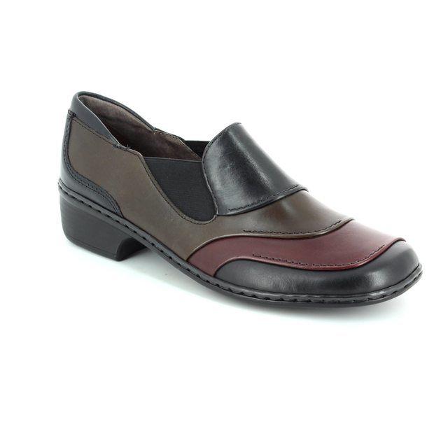 Ara Rhodox 62726-06 Black multi comfort shoes