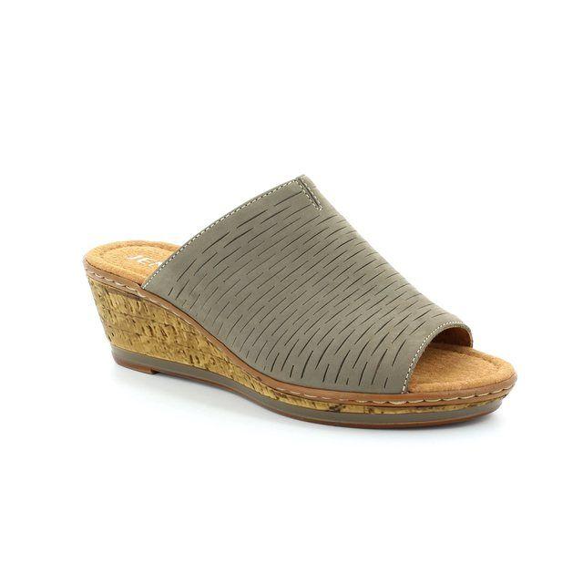 Ara Rimini 2256717-06 Dark taupe sandals