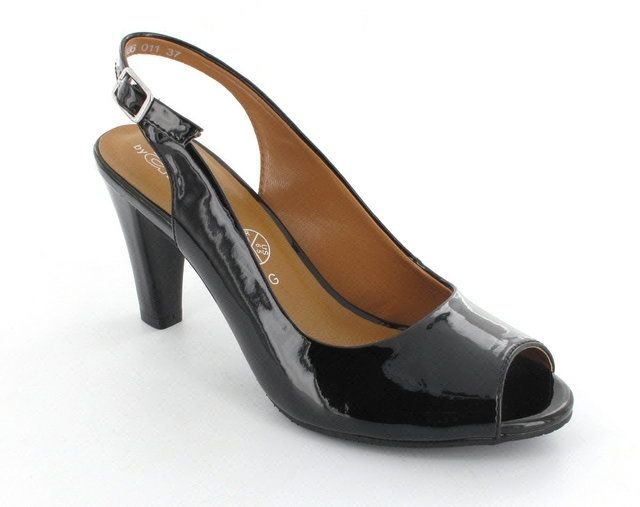 Ara Salerno 2252102-10 Black patent high-heeled shoes