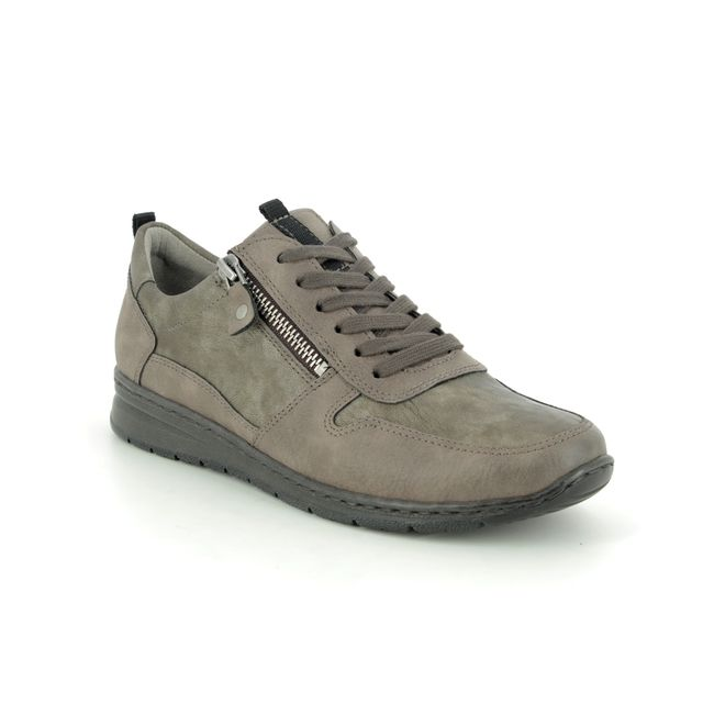 Ara Lacing Shoes - Taupe - 62422/12 SAPPORO WIDE FIT