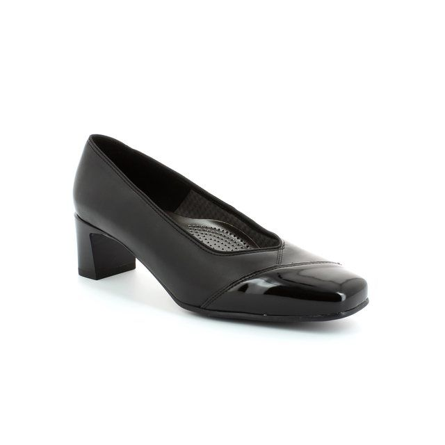 Ara Veronicop 41742-01 Black patent heeled shoes