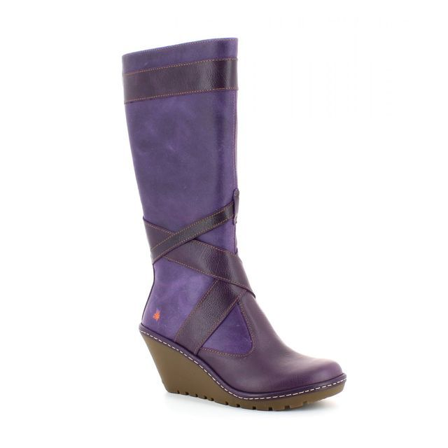 Art Artfly 0249-80 Purple knee-high boots