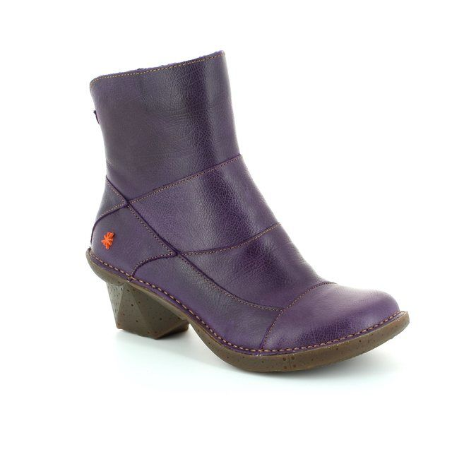 Art Arti 0621-80 Purple ankle boots