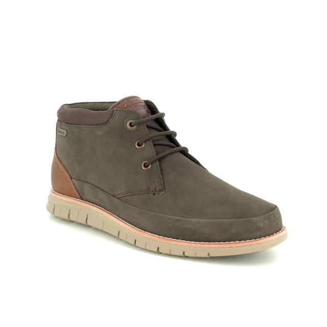 Barbour Boots - Brown leather - MFO0386/BR91 NELSON