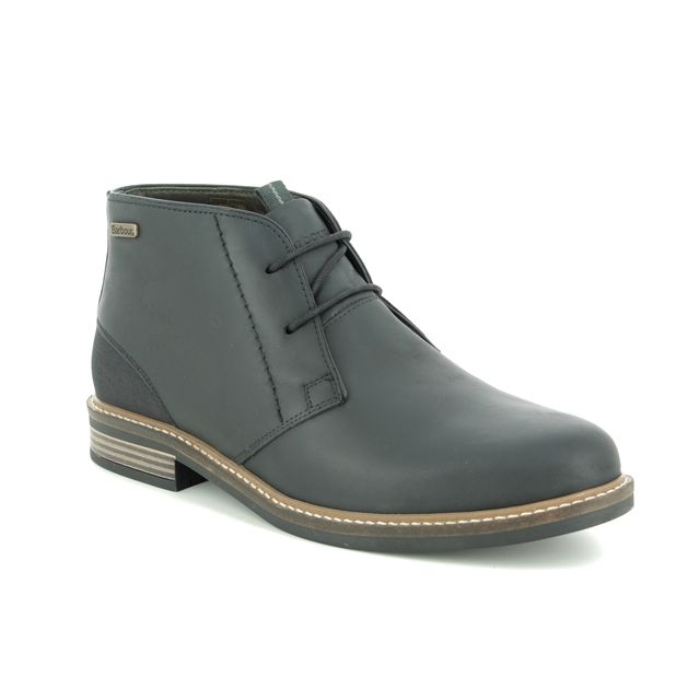 Barbour Chukka Boots - Black leather - MFO0138/BK11 REDHEAD