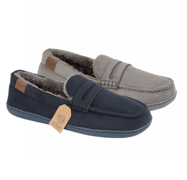 Begg Shoes Slippers - Navy - 8677/70 NEW HAMPSHIRE