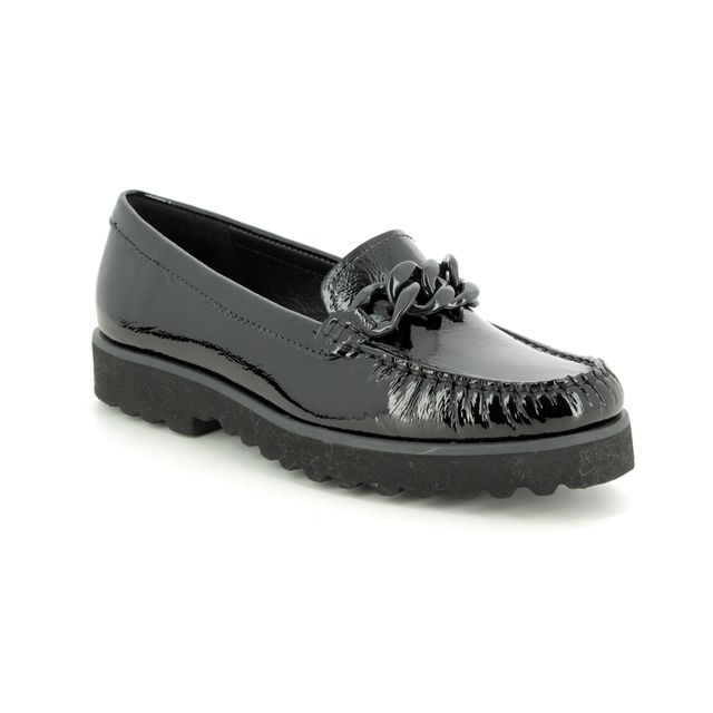 Begg Shoes Loafers - Black patent - 16659/30 CORVETTE