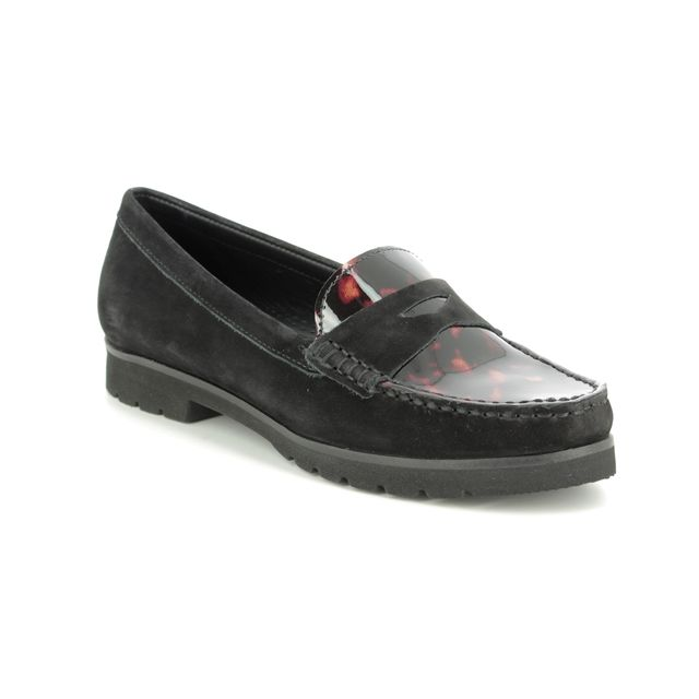 Begg Shoes Loafers - Black patent - 29102/30 CORVETTOISE